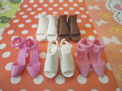 Doll Shoes - 5PAIRS Momoko Doll Casual shoes #S2176 NEW