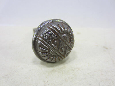 Antique Cast Iron Eastlake Screen or Closet Door Knob