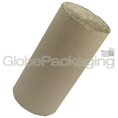750mm x 10m CORRUGATED CARDBOARD PAPER ROLL 10 METRES