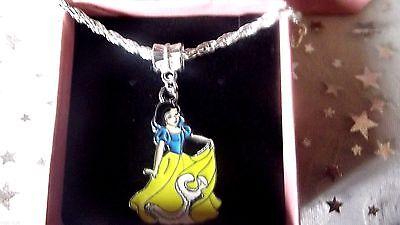 New  Snow White   Princess   Necklace Strong  Age 3,4,5,6,7,8 Years  Gift Box,