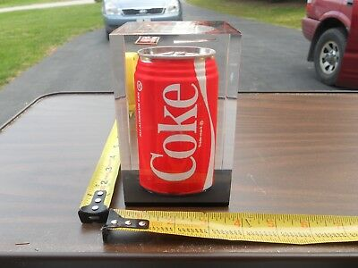 Top All STAR Salesman COKE CAN DISPLAY in LUCITE