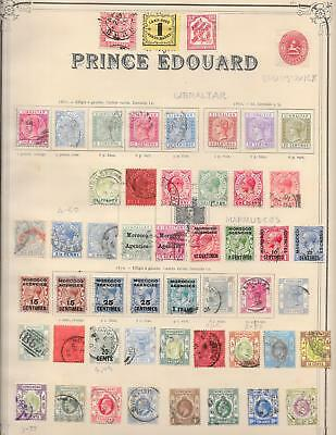 British Colonies stamps Collection of 51 stamps HIGH VALUE! Hong Kong
