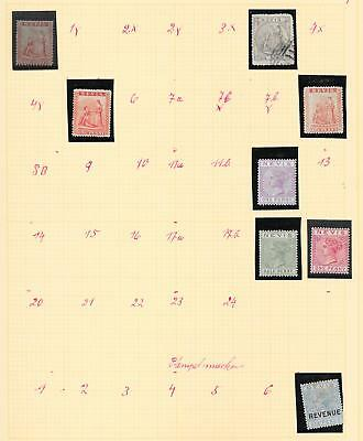 Nevis stamps Collection of 8 CLASSIC stamps HIGH VALUE!