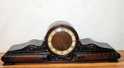 Antique Table Clock Mantel clock Westminster Clock*BIG CLOCK 79CM*XXL Handcarved