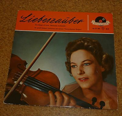 """LP Record 10"""" Liebeszauber The Magic of Love Helmut Zacharias Polydor 45 151 LPH"""