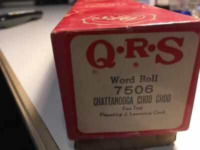 Q.R.S.  Piano ( Word)  Roll Chattanooga Choo Choo
