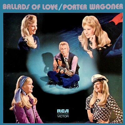 "PORTER WAGONER ""Ballads Of Love"" BRAND NEW FACTORY SEALED 1972 RCA LP"