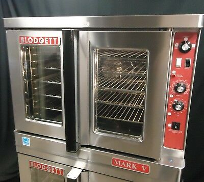 2009 Blodgett Mark V Commercial Double Electric Convection Oven Single Or 3 Ph
