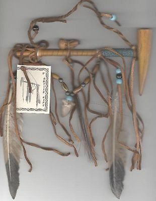Antler Peace Pipe Handmade In Usa By Navajo Artist