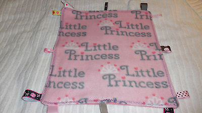 Little Princess New Baby Security Blanket With Tags Lot 49