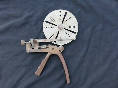 Vintage Curtis Industries Key Cutter  Made In The Usa