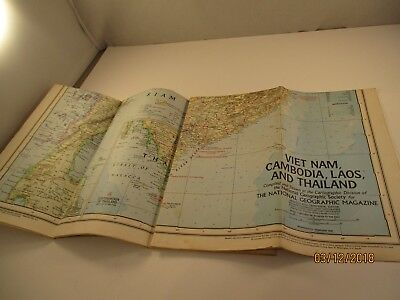 National Geographic Society 1967 Viet Nam, Camodia, Laos, and Thailand #5