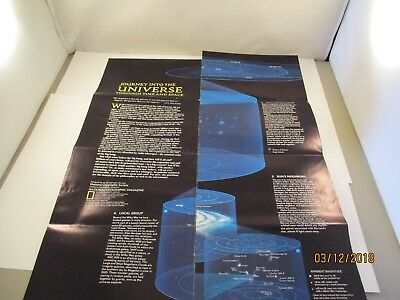 National Geographic Society Maps#19 Journey into the Universe through Time/Space