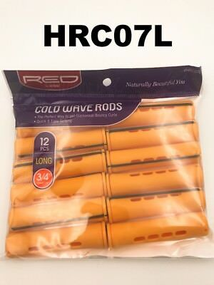 """RED BY KISS COLD WAVE RODS  HRC07L   12 PCS per PACK, DIAMETER 3/4"""",  LONG"""