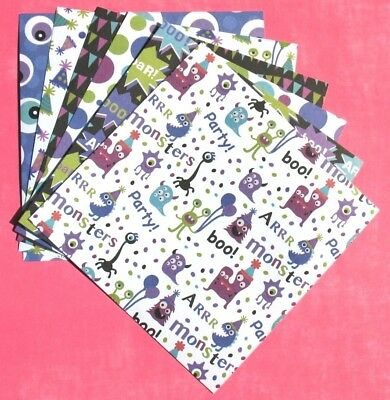 Party Monsters - 6x6 Forever In Time Scrapbooking Paper Pack