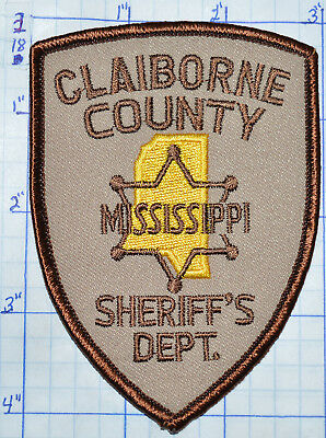 Mississippi, Claiborne County Sheriff's Dept Patch