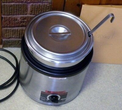 APW / Wyott Commercial / Restaurant Food Warmer - RW-1V - 7 qt - Soups, etc