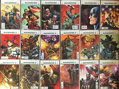 18 Ultimate Avengers (Vol 1,2,3) Compete Set # 1,2,3,4,5,6 vf/nm Mark Millar