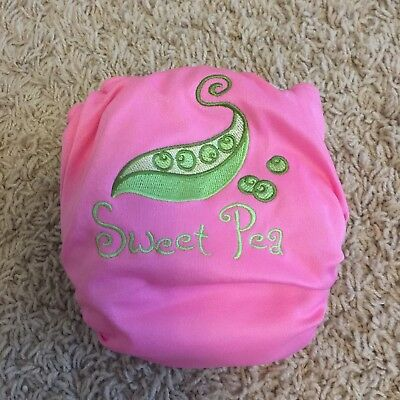 Bottom Bumpers All in One Cloth Diaper - Petite - One of a Kind Custom Sweet Pea