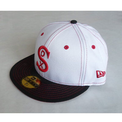 Chicago White Sox Officially Licenced 59FIFTY Throwback MLB New Era Fitted Cap