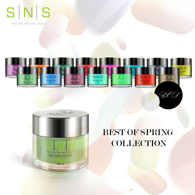 SNS Nail Dipping Powder Best of Spring Colleciton (BOS) *Choose any color*