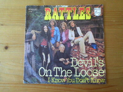 RATTLES  Devil's On The Loose  PHILIPS 6003 170