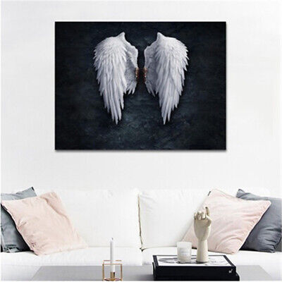 Modern Angel Wings Canvas Art Poster Print Wall Picture Home Decor Unframed New