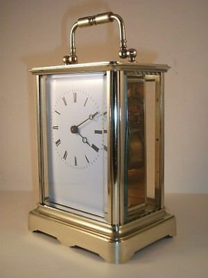 Antique French carriage clock C1910. With key. Restored & serviced in March 2018