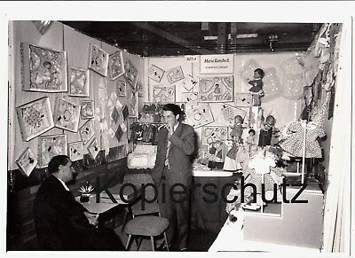 3 Private Fotos Nürnberger Spielwarenmesse,Stand M.Ramsbeck/Schwabach 1960...