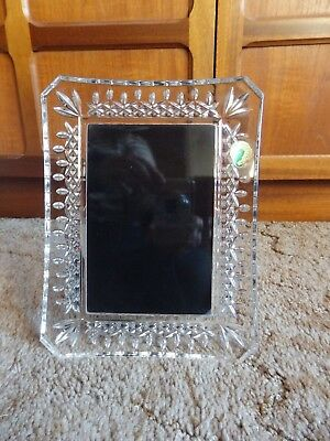 Waterford Crystal Picture Photo Frame