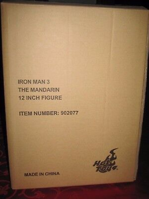 "Hot Toys : IRON MAN 3 "" THE MANDARIN "" 12 INCH FIGUR"