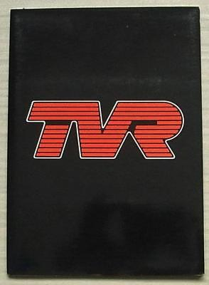 TVR S CONVERTIBLE Press Media Pack Photos Sept 1988 FRENCH TEXT