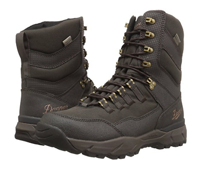 2a1d23366 New in Box Danner Mens Vital Insulated 400G Hunting Shoes Boots Brown 8 2E  US