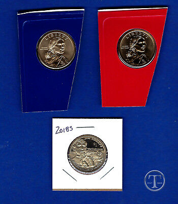 2018 P D and S BU and Proof Sacagawea Native American Dollar-PD from Mint Set
