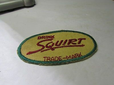 Cool Vintage Squirt Soda Pop Advertising Truck Driver Jacket Patch
