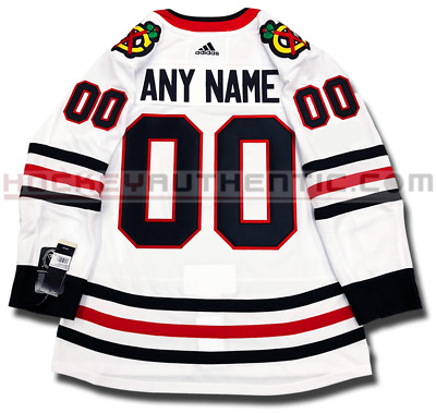 Chicago Blackhawks Any Name & Number Adidas Adizero Away Jersey Authentic Pro