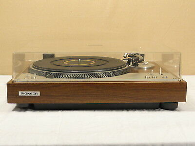 Vtg Working Pioneer Pl-530 Direct Drive Fully Automatic Turntable Stereo Dd