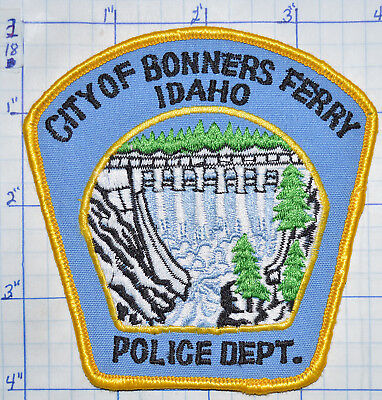 Idaho, City Of Bonners Ferry Police Dept Patch