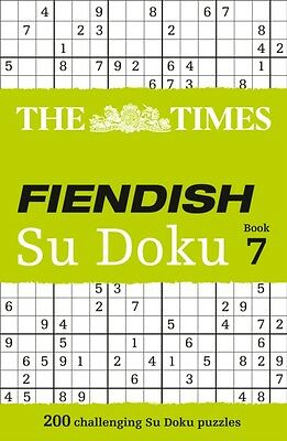 The Times Fiendish Su Doku Book 7 (Paperback), The Times Mind Gam...