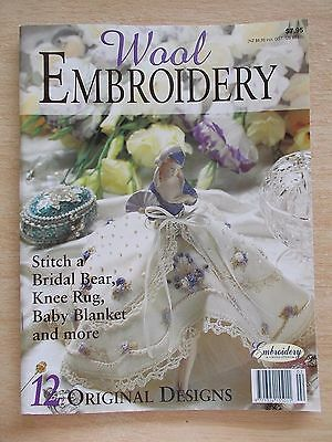 Wool Embroidery~12 Projects~Half Doll~Bridal Bear~Blanket~Kimberley Gorge~Crewel