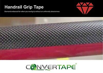 Handrail Grip Tape Non Abrasive Self Adhesive Safety 25 50 100mm x Various