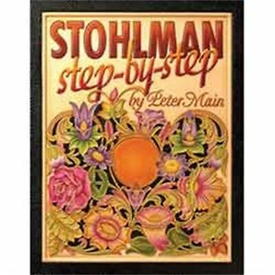 Stohlman Step By Step Leather Design Book - Peter Main How To Guide