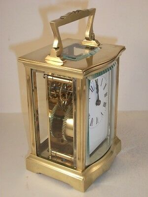 Antique French carriage clock C1910. With key. Restored & serviced in Mar. 2018.