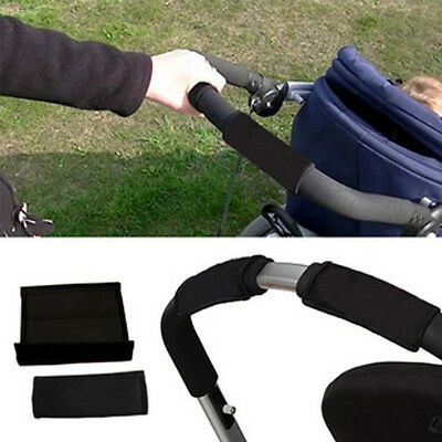 Luxury Baby Pram Pushchair Stroller Buggy Front Bumper Protective Handle Cover