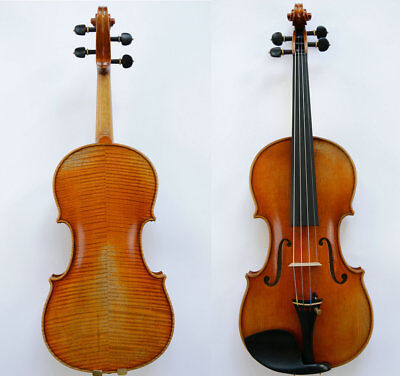 One of Master Wang's Best Violins!Interesting Flame