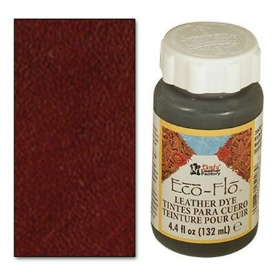 4oz Dark Mahogany Eco Leather Dye - Flo Dk Colour Leathercraft Tandy