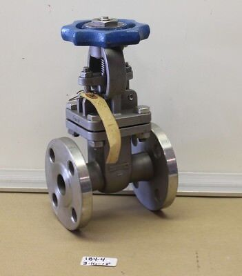 "+New Williams 1"" Flanged 150 Stainless Gate Valve Fig# S15F6316G   316Ss"