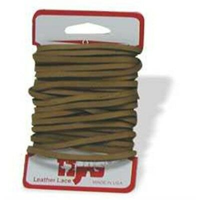 Latigo Lace 1/8in x 4yds - 18in Tan Heavy Duty Leather Leathercraft Tandy