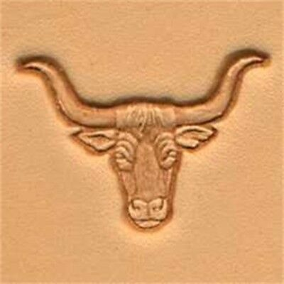 Longhorn Craftool 3d Stamp Leather Stamping Imprint Tool Tandy Leather 88438-00