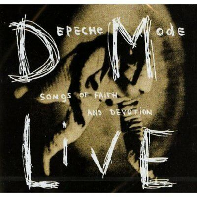 Depeche Mode Songs Of Faith And Devotion Live Cd